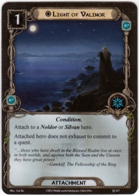 Lord Of The Rings Lcg Light Of Valinor