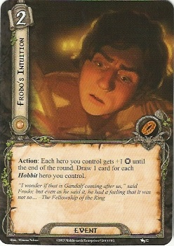 Frodo's Intuition