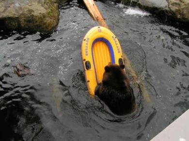Beorn in a Raft