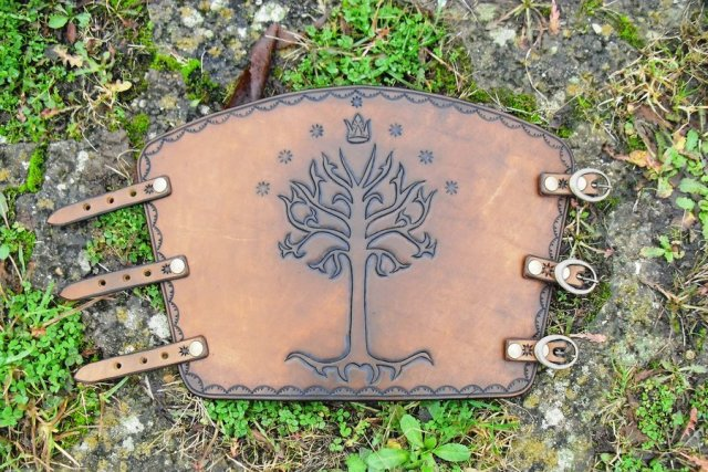 Tree of Gondor Bracer