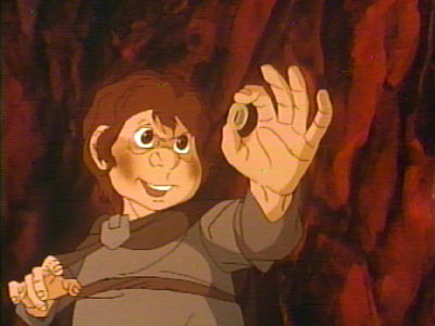 Frodo Keeps the Ring