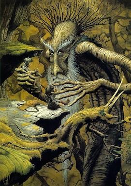 Treebeard by Rodney Matthews-small