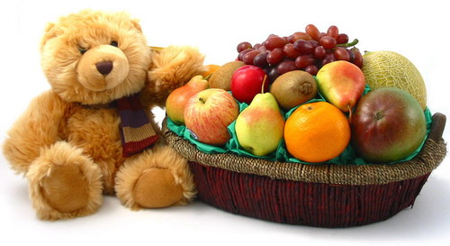 bear-with-fruits