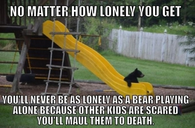 Lonely-bear