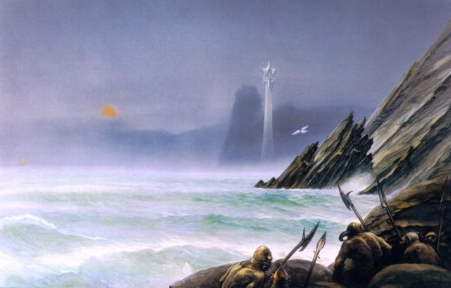 white tower of Gondor