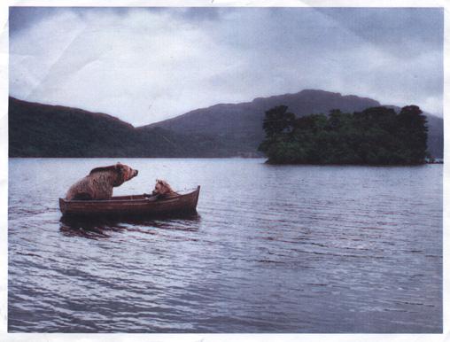 bears-in-a-boat