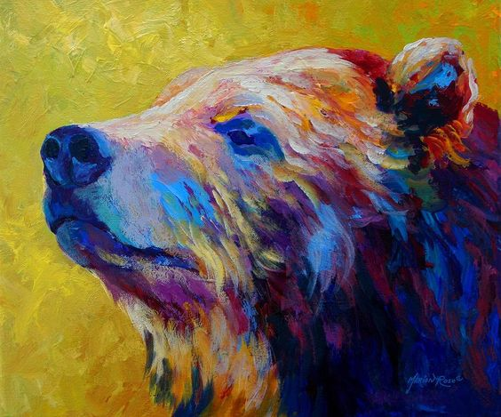 bear-painting